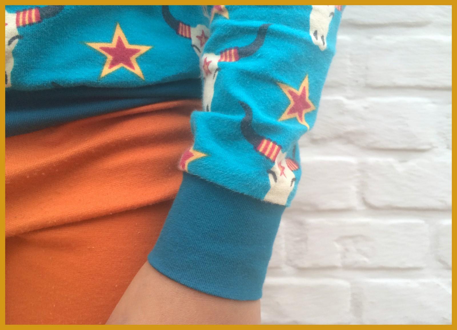 lillestof pyjama (close-up)
