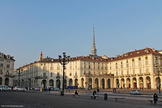 Cosa vedere a Torino: Piazza Vittorio Veneto.