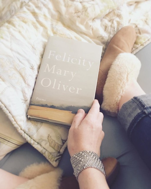 Day 26: Real life #decemberreflections In bed with new slippers and a new book. I think all the answers I need are on these pages -- at least I hope so. Mary Oliver never disappoints. Feeling all the sad feelings today, despite a beautifully joyous Chri