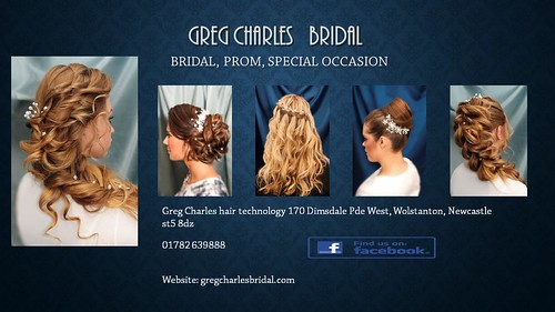 GREG CHARLES   BRIDAL business card