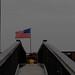 American Flag at Milton Landing