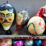 creepy Xmas ornaments