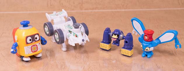 レビュー バンダイガシャポン ヘボット!ガシャプラシリーズvol.1