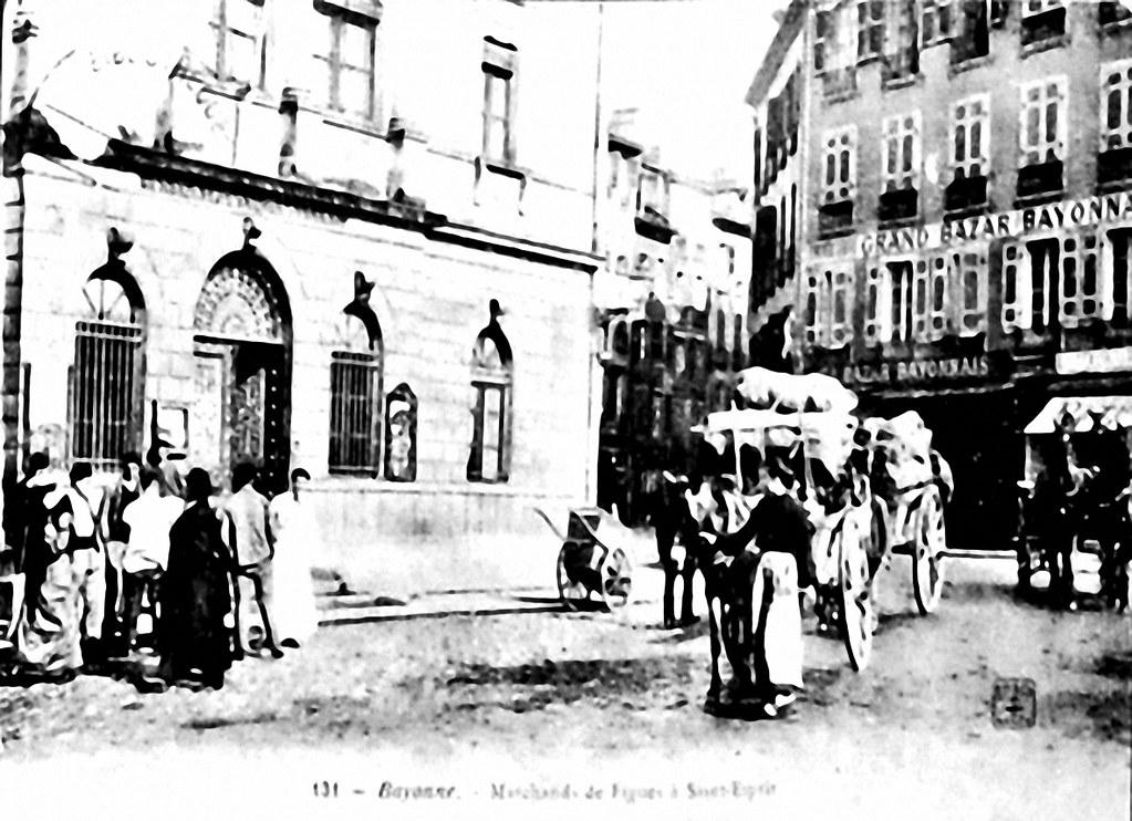 Bureau de poste de bayonne saint esprit map pyr n es atlantiques france mapcarta for Bureau de poste