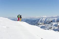 Guga hö: brzké ranní lyžování na svazích Mostviertelu