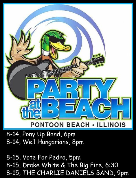 Party At The Beach 8-14, 8-15-15