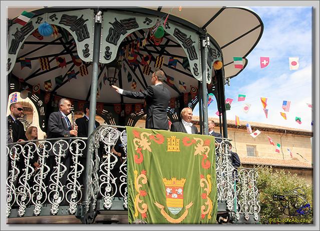 Briviesca en Fiestas 2.015 Recepción en el Ayuntamiento y canto popular del Himno a Briviesca (14)