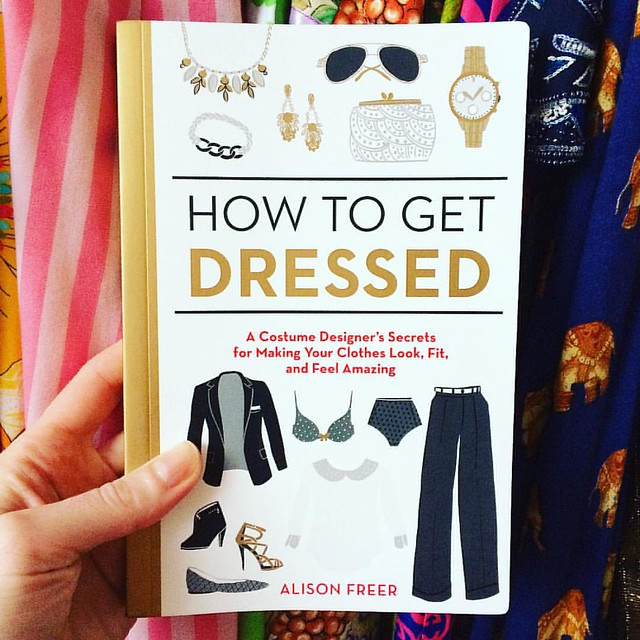 "Hooray! ""How to Get Dressed"" by one of my fave @xojanedotcom writers, @alisonfreer arrived! Already I'm loving the chapter on laundry (and relieved that I'm doing it mostly right) ✨"