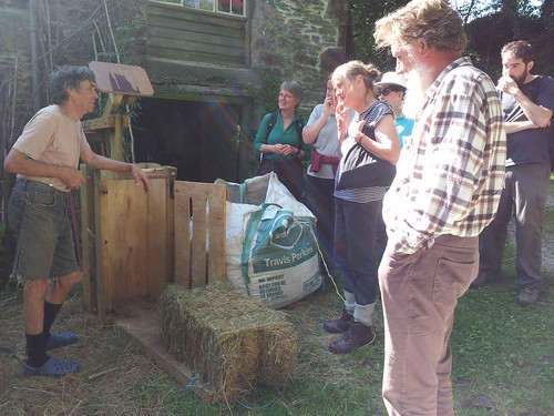 how to make a hand hay baler