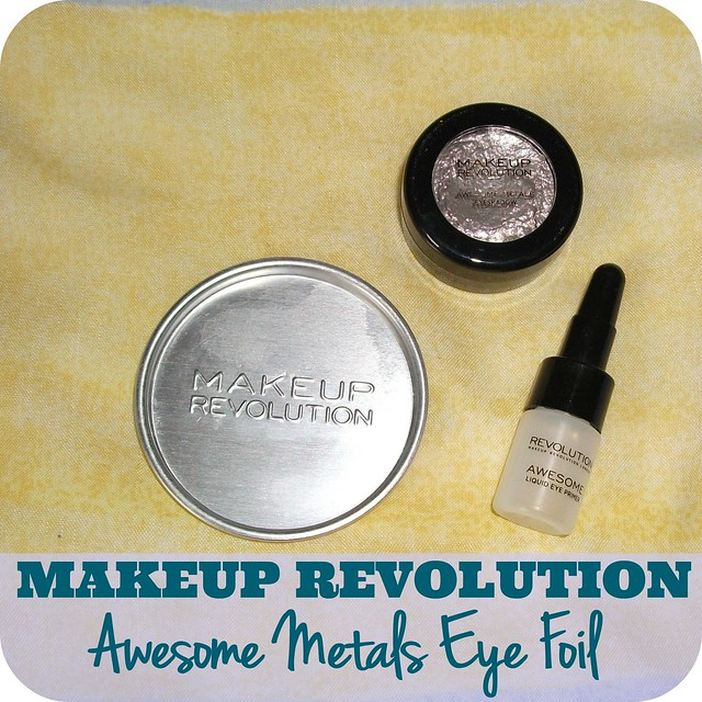 Makeup Revolution Awesome Metals Eye Foil Pure Platinum