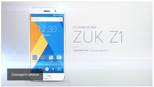 ZUK Z1 - Cyanogen OS-szel