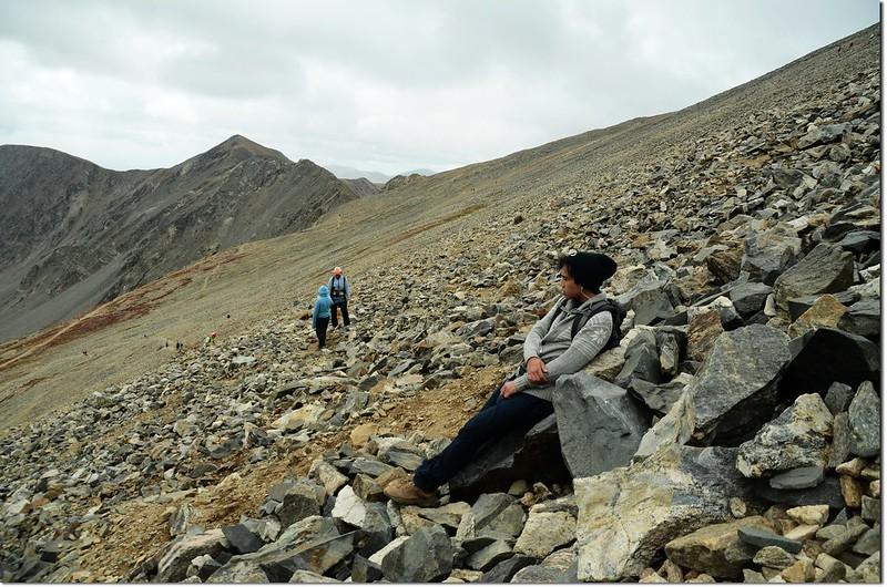 Grays Peak's south slope