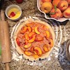 Peach Pie, y'all. :peach::peach::peach:#becauseitsstillsummer #august #peachseason #hankerinforpie #justsaynotoaugustpumpkins #livethemoment