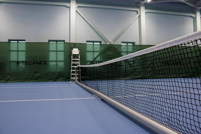Новый теннисный корт в Кирове