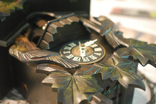 Cuckoo Clock Getting Repairs