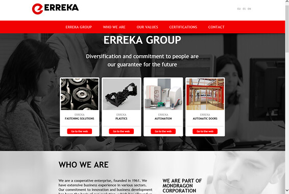 Erreka web