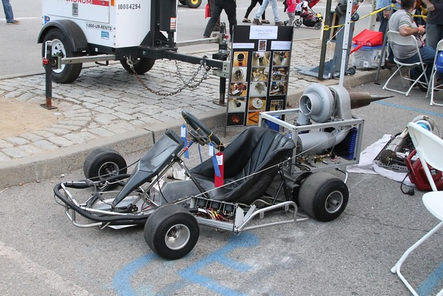 Rocket go-cart