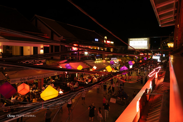 pub street at siem reap night market