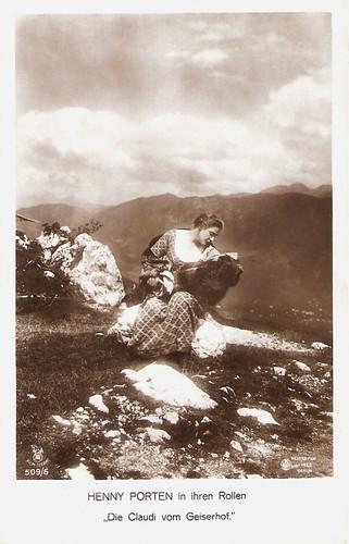 Henny Porten in Die Claudi vom Geiserhof (1917)