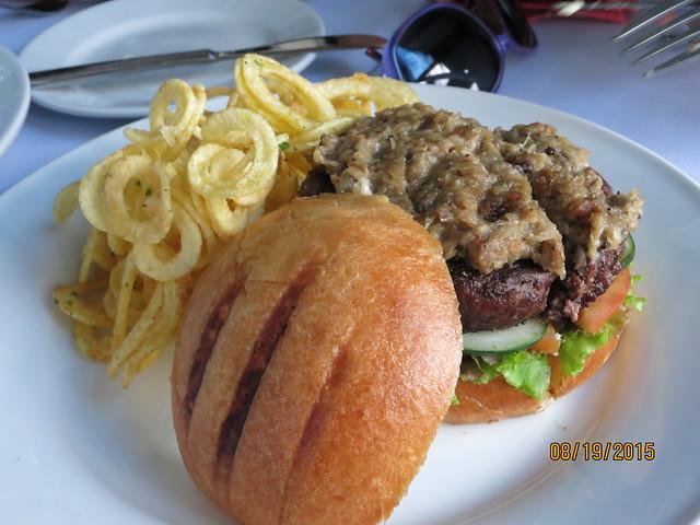 IMG_8561: Le Jardin Burger with Leek Fondue
