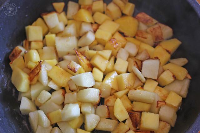 Atún con manzana y mango al aroma de Barbadillo www.cocinandoentreolivos.com (6)