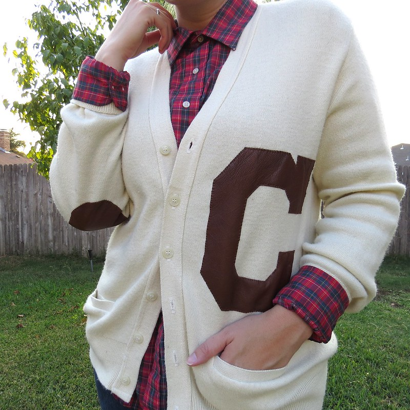 DIY Varsity Sweater
