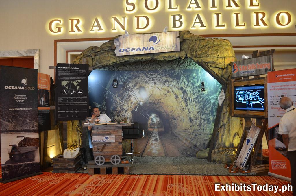 Oceana Gold Exhibit Stand