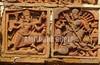 Goddess Durga and Kali In Terracotta