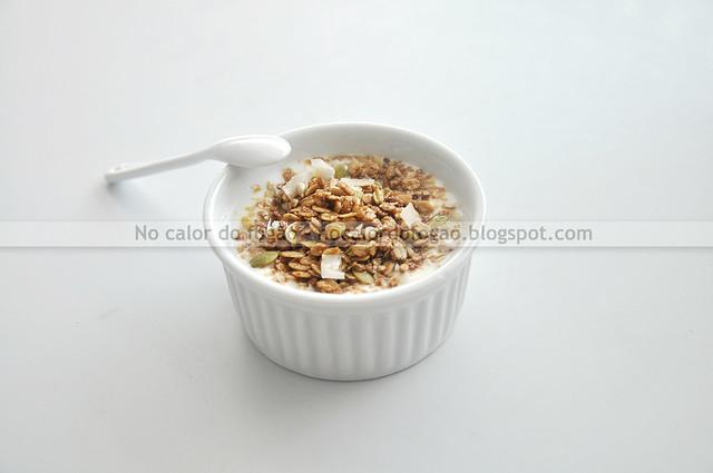 Stovetop granola (servida)