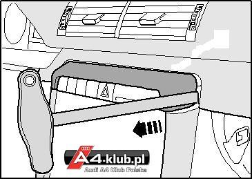 70944 - Instalacja przełącznika deaktywacji poduszki pasażera AIR BAG OFF - 14