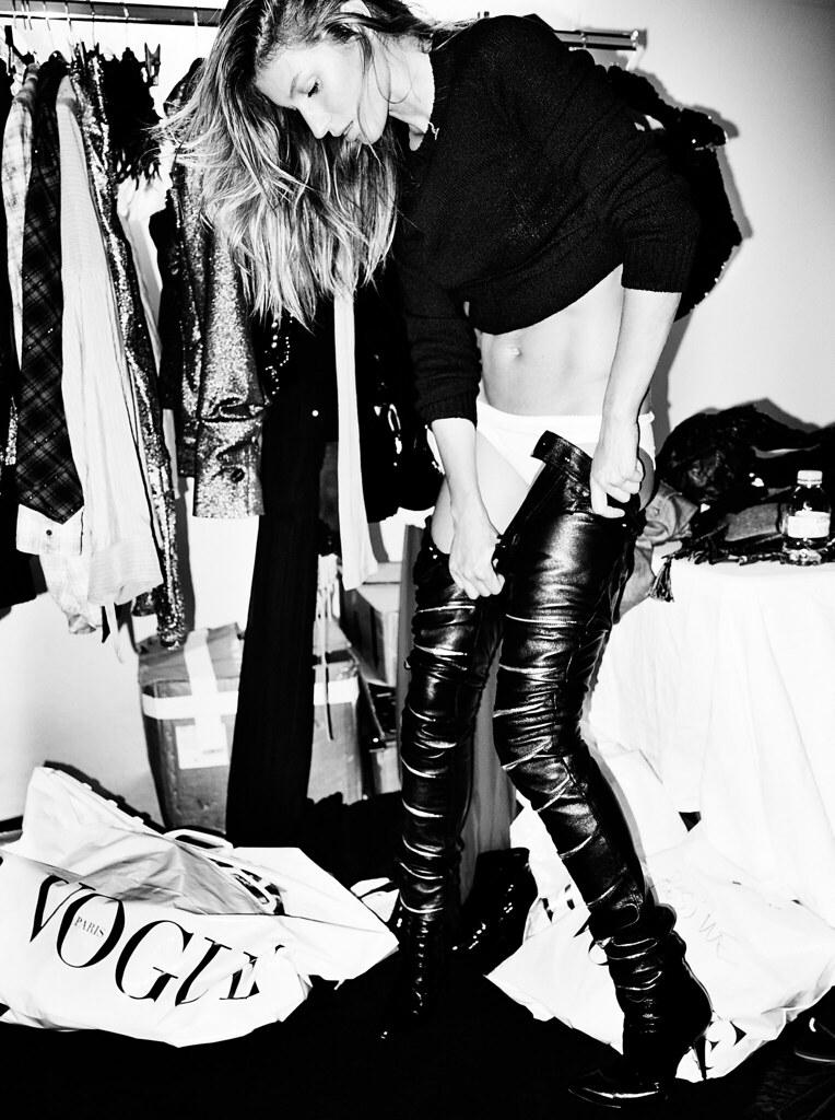 Жизель Бюндхен — Фотосессия для «Vogue» FR 2015 – 6