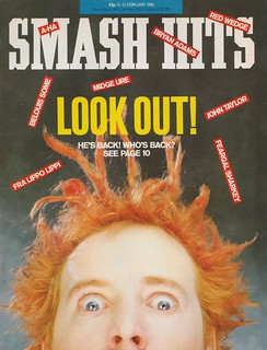 Smash Hits, February 12, 1985 – p.01