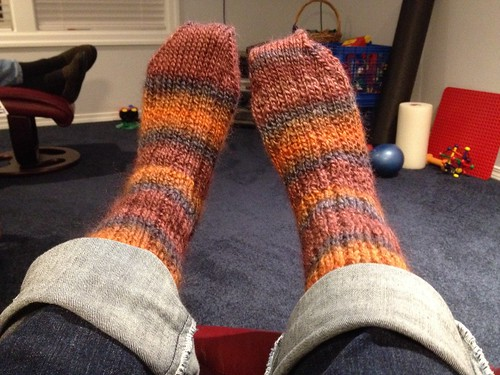 Thuja socks finished