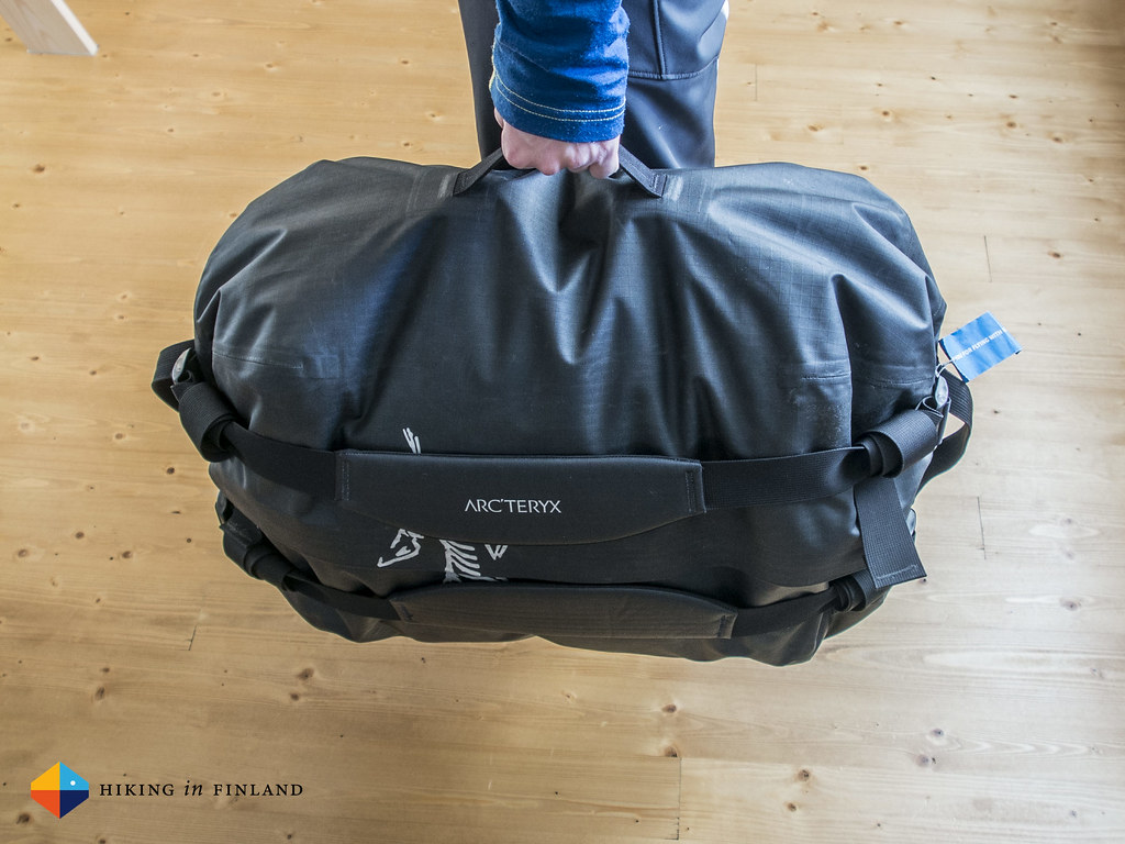 Arc'teryx Carrier Duffle 50 carried