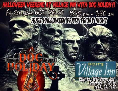 Doc Holiday 10-30, 10-31-15
