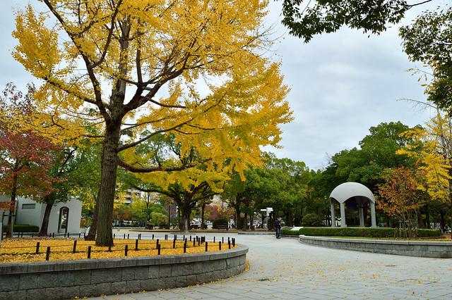 広島平和記念公園の秋 Hiroshima Peace Memorial Park
