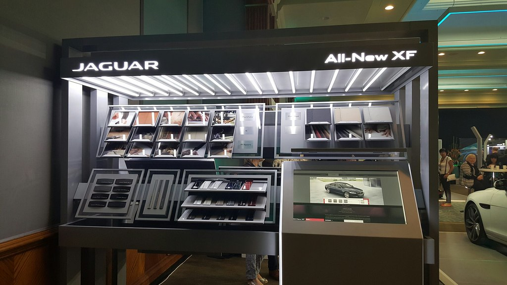 Jaguar XF | Kiosk Overview