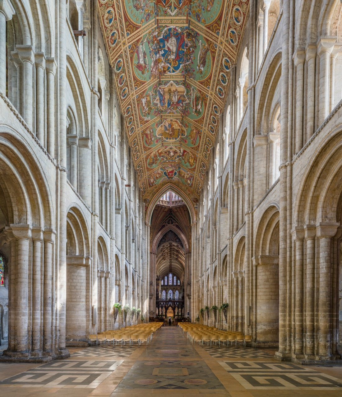 The nave of Ely Cathedral, Cambridgeshire. Credit: David Iliff