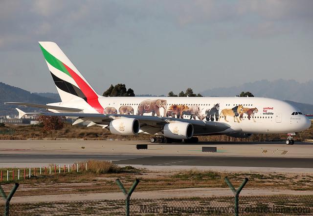 EMIRATES A380 A6-EEI