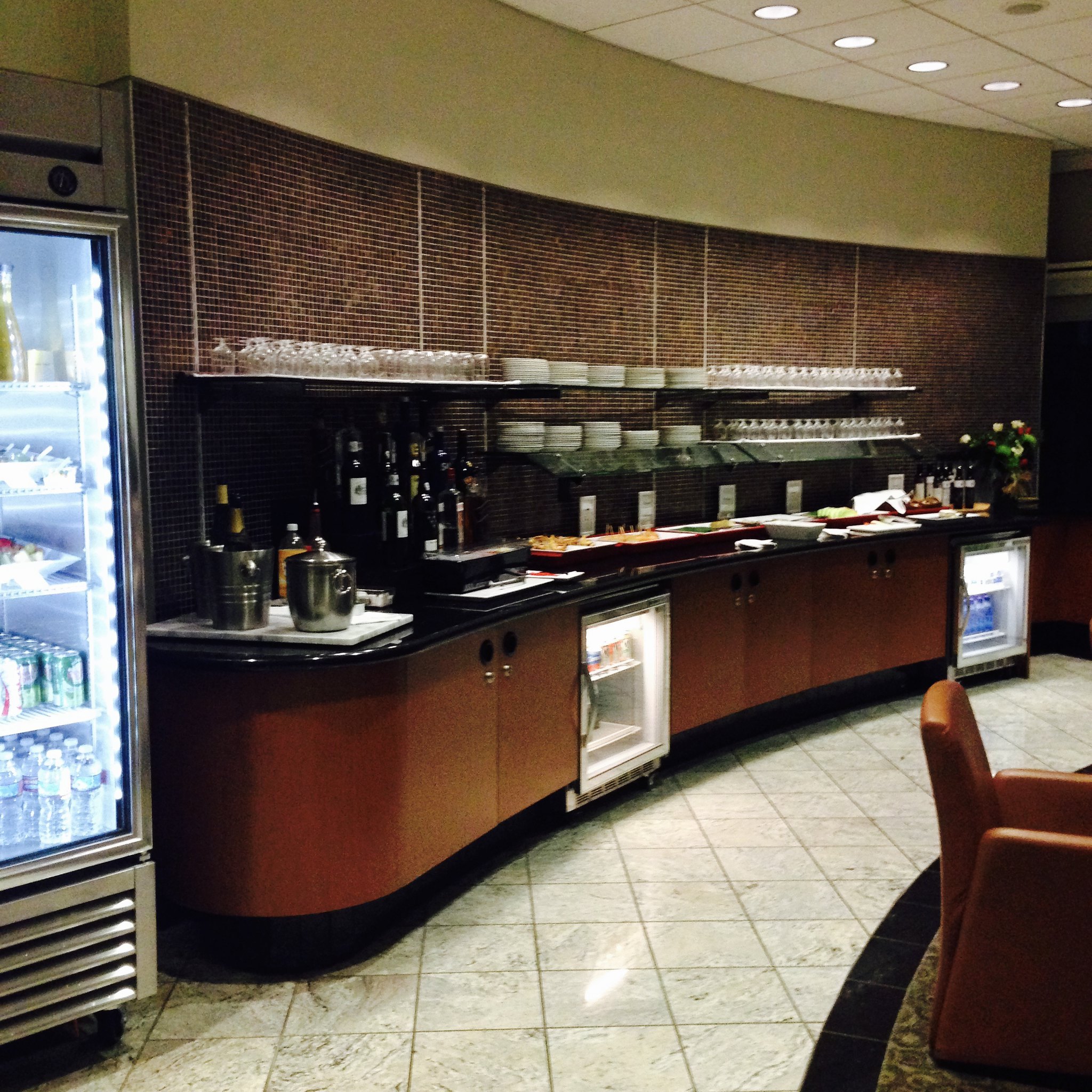 Air France/KLM Lounge at SFO