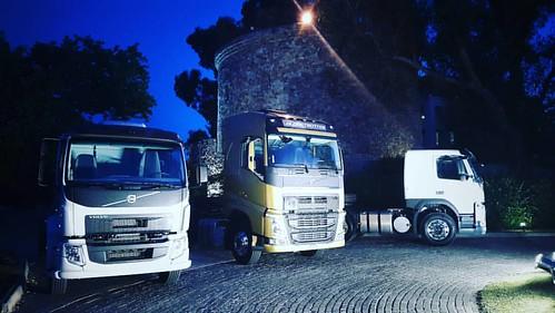 Camiones conectados de #Volvo Argentina