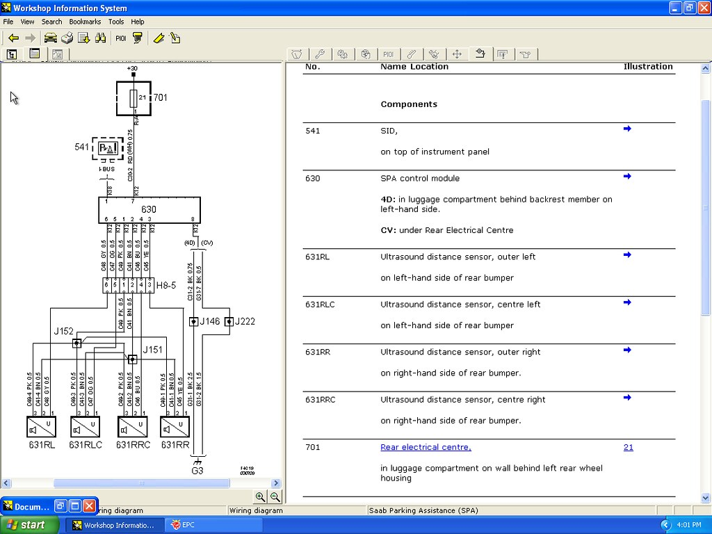Wiring Diagram Saab 95 Parking Assistance Wire Sensor Rh Lightningcms Co Diagrams C900 For 1995