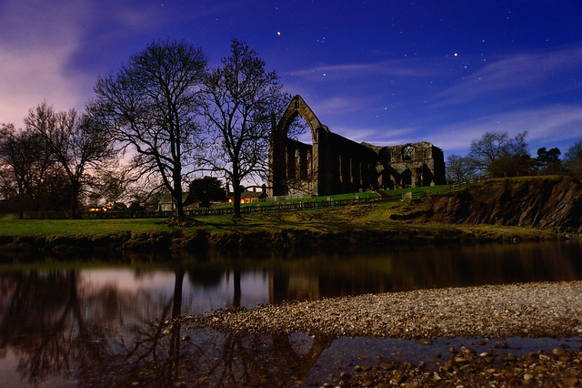 A night at the Abbey