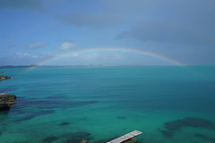 Rainbow off Spanish Point