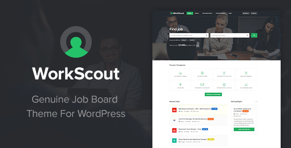 WorkScout v1.4.6.2 - Job Board WordPress Theme