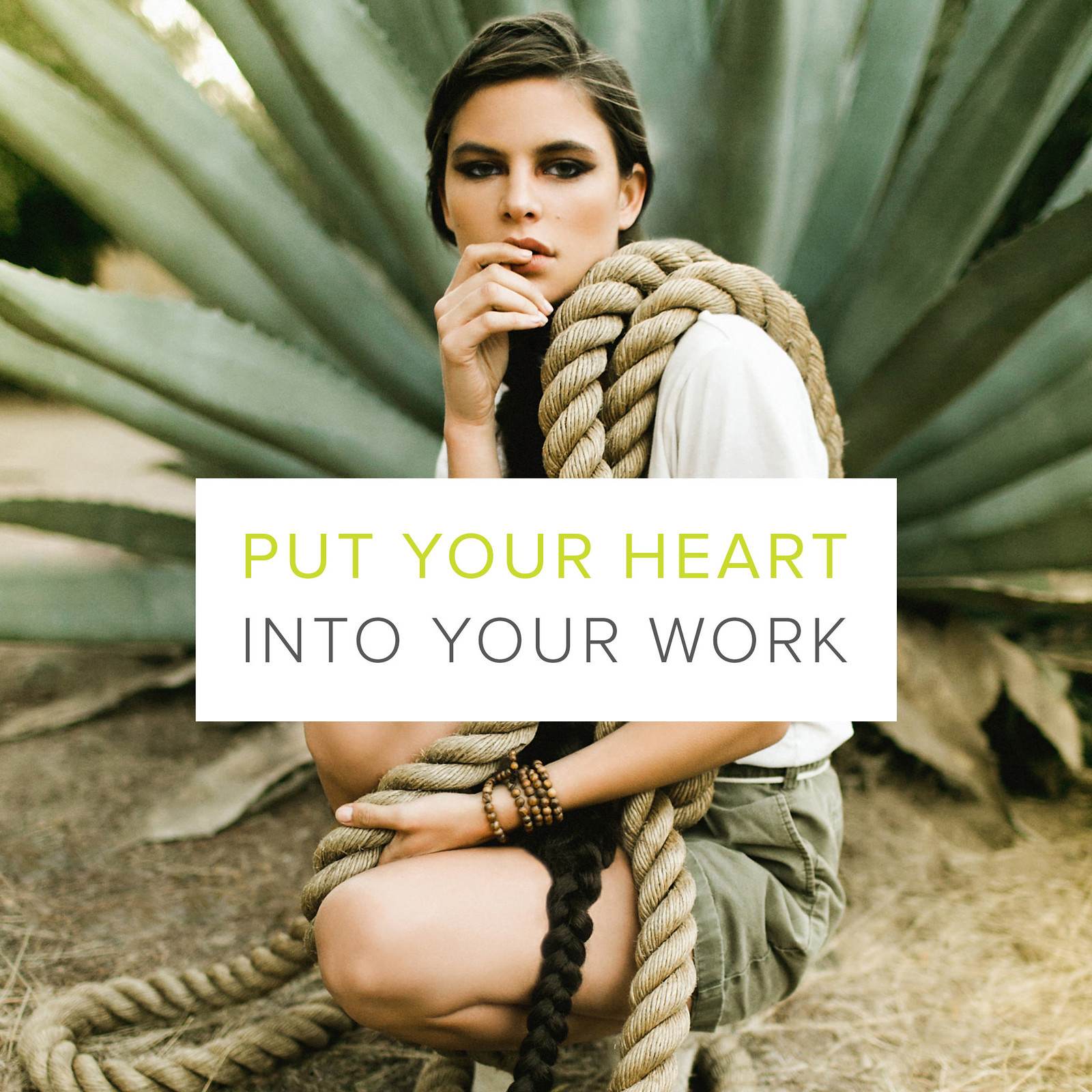 The Creative Manifesto // Ben Sasso // Put Your Heart Into Your Work
