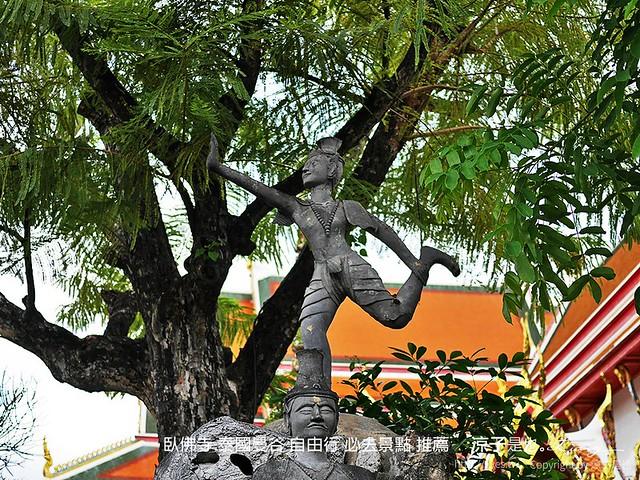 臥佛寺 泰國曼谷 自由行 必去景點 推薦 7