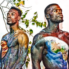 Tony Jarrett and Vince Bronson, Mousai Models at DC Union Arts