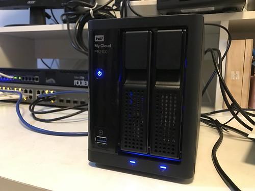 เปิดใช้งาน WD My Cloud PR2100 แล้ว