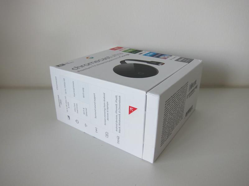 Google Chromecast Ultra - Box
